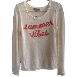 NWT Summer Vibes sweater. Small